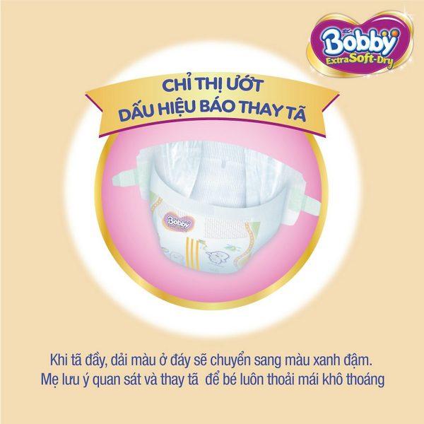 Tã dán cao cấp Bobby Extra Soft Dry