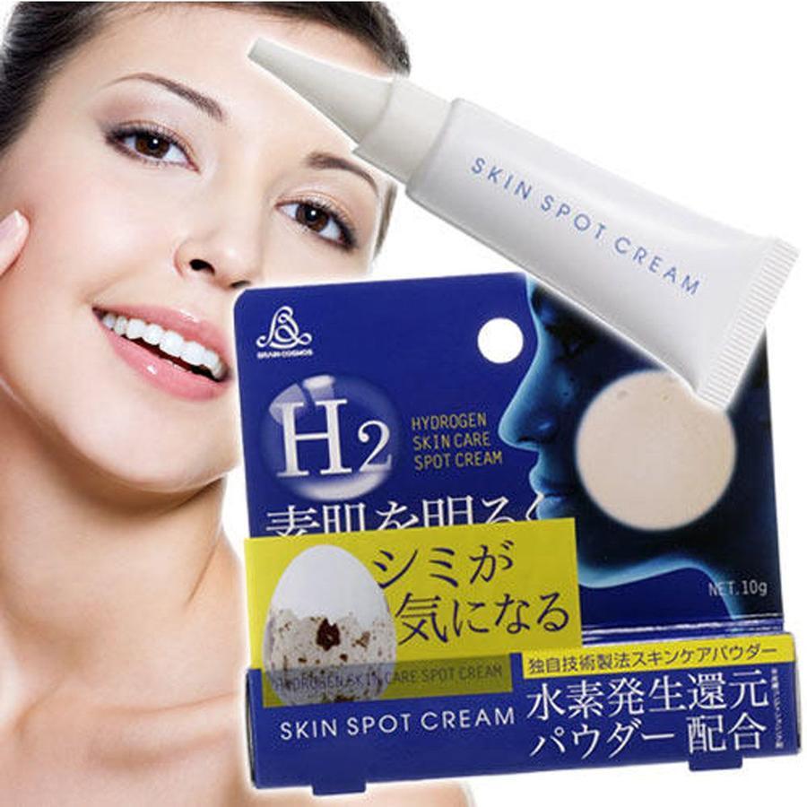 Dưỡng ẩm cho da trước khi sử dụng kem trị nám H2- Skin Spot Cream