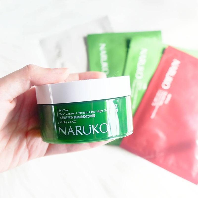 Mặt nạ ngủ Naruko tràm trà có tốt không? Review sản phẩm chi tiết