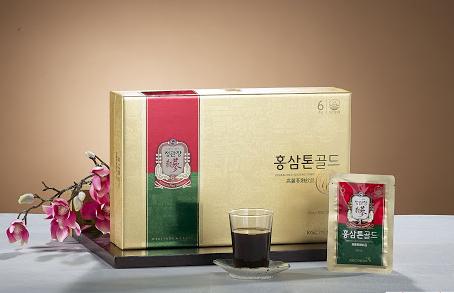 Nước hồng sâm KGC Tonic Gold: công dụng và cách dùng
