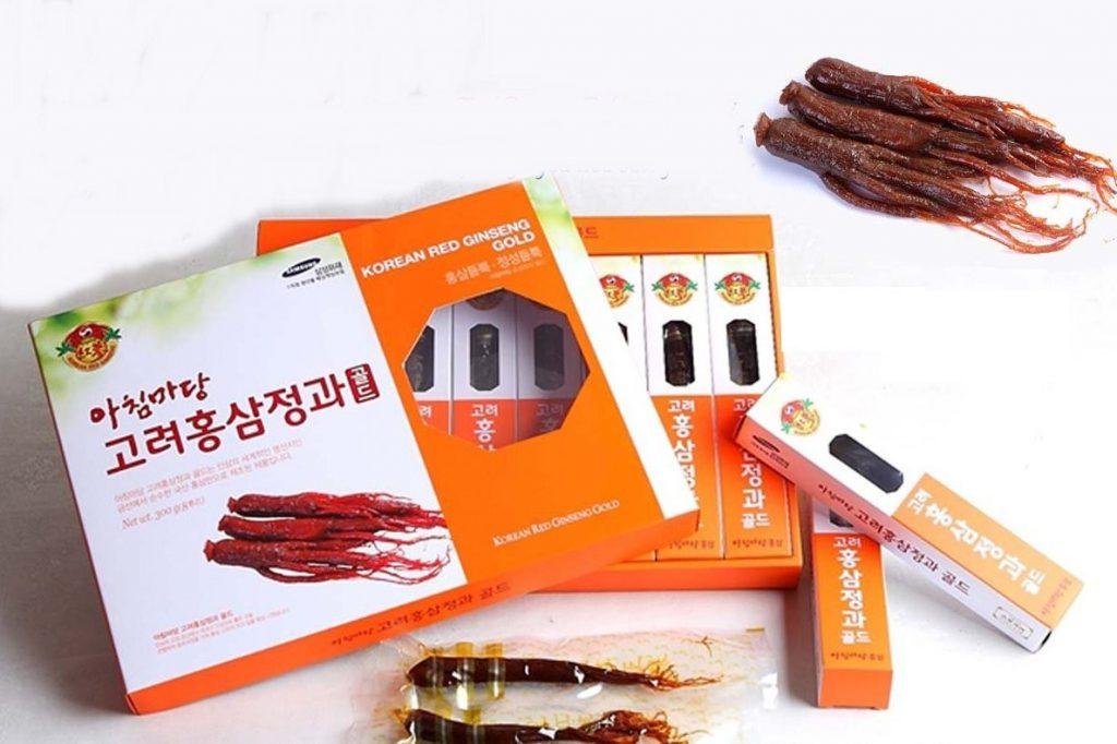 Hồng sâm mật ong Achimmadang Hàn Quốc: Công dụng và cách dùng