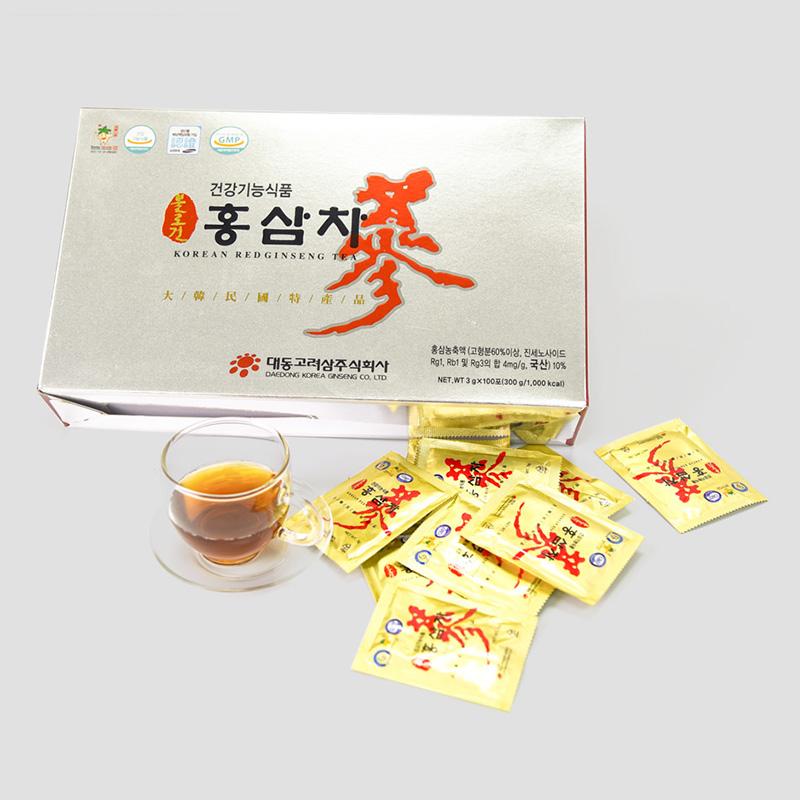 Trà hồng sâm Hàn Quốc Daedong có tốt không? Công dụng và cách dùng
