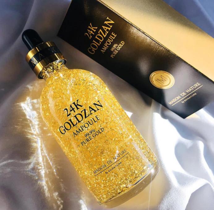 Serum vàng 24K – Bước đột phá mới trong lĩnh vực làm đẹp