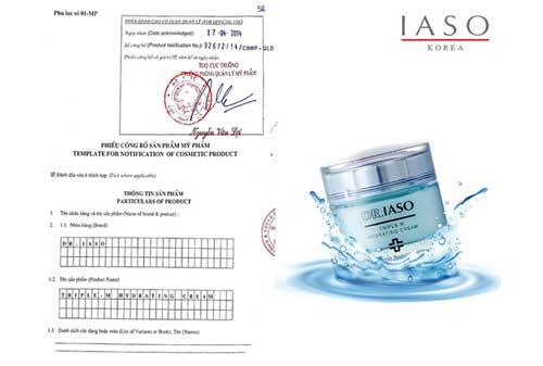 Kem dưỡng ẩm IASO