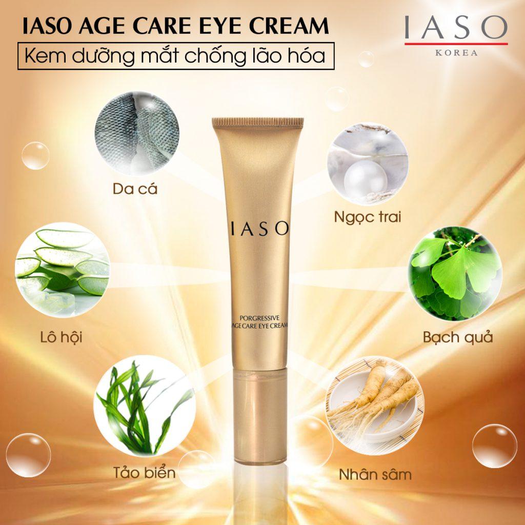 Kem chăm sóc da mắt IASO