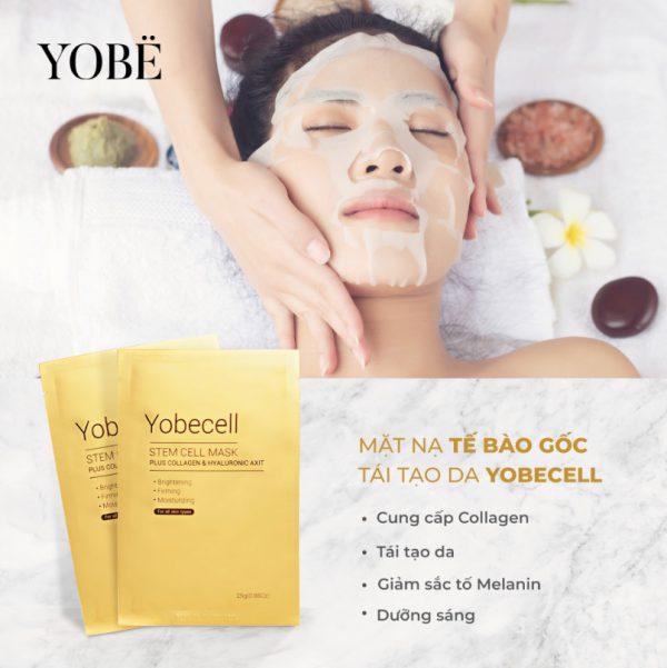 Mặt nạ tế bào gốc Yobecell
