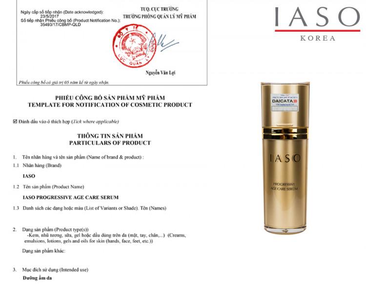 Tinh chất ngăn lão hóa IASO