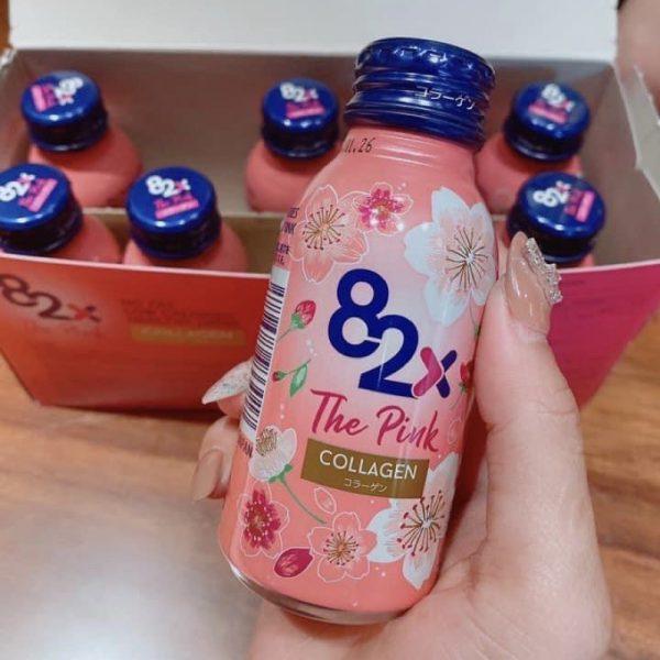 Nước uống Collagen 82x The Pink